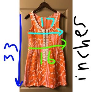 Lilly Pulitzer for Target Dresses - Lilly Pulitzer Orange & Pink Short Sun Dress